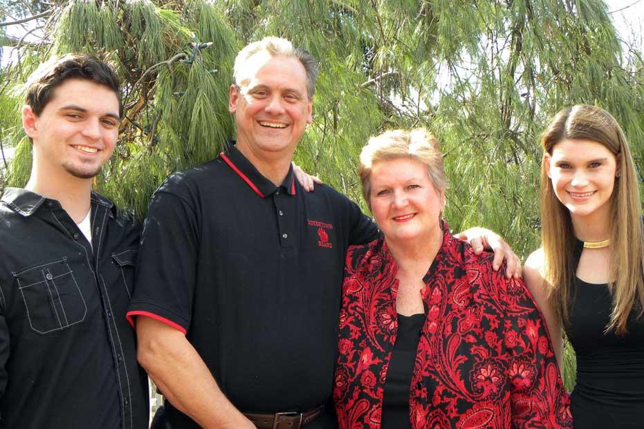Clay Breece Family